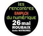 Retrouvez-nous le jeudi 26 mai au salon Les Rencontres de l'Emploi du Numérique à Roubaix