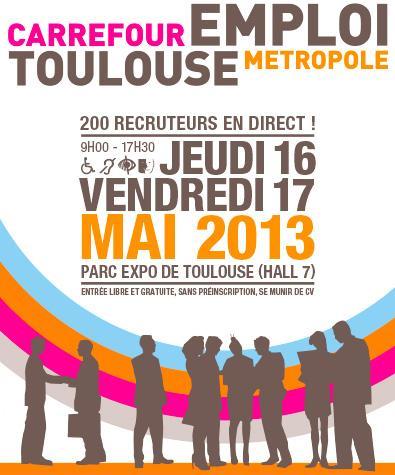 Axecibles au Carrefour Emploi Toulouse Métropole