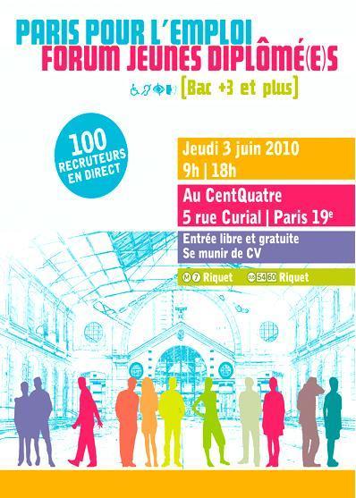 Paris pour l'Emploi_Jeunes diplômés