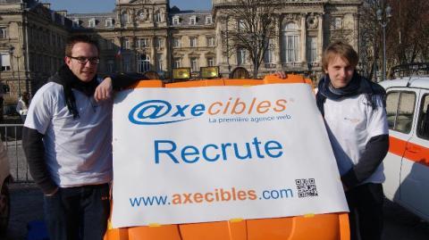 Axecibles soutient Gautier et son copilote pour le Raid 4L Trophy Au Maroc