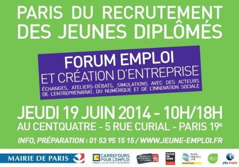 Axecibles vous retrouve au forum emploi de Paris ce 19 juin