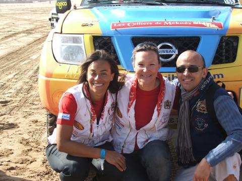 Axecibles au Rallye des Gazelles