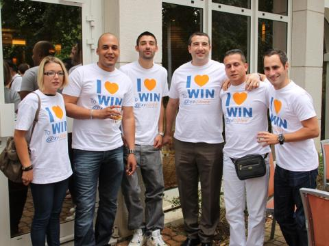 Le séminaire des commerciaux d'Axecibles : on aime gagner !