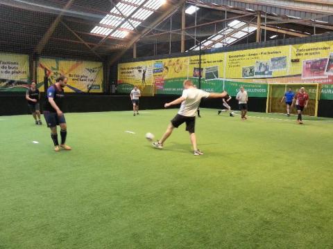 Axecibles remporte un match de foot face à Verlingue