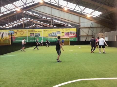 Axecibles remporte un match de foot face à Verlingue