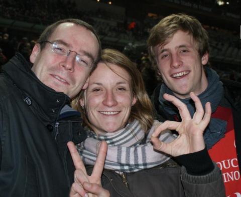 Escapade de supporters au stade de France