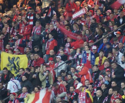 Escapade de supporters au stade de France
