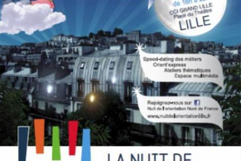 Axecibles vous rencontrera à La Nuit de l'Orientation le 25 janvier à Lille